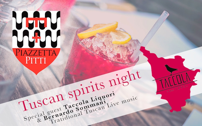 Sabato 25 agosto 2018 – Tuscan Spirits Night